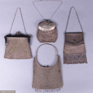 FOUR MESH BAGS, GERMANY & AMERICA, 1900-1920