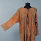 FORTUNY STENCILED VELVET COAT, 1920s