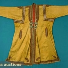 MANS KASHMIRI EMBROIDERED COAT, 19th C